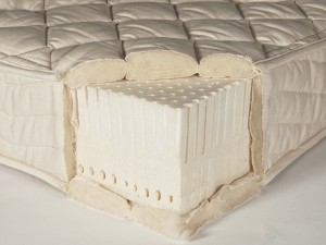 A latex mattress