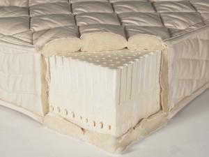 A latex mattress