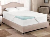 A gel mattress topper