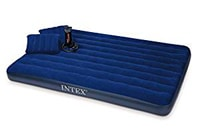 Intex Classic Downy Air Bed Set with 2 Pillows and Double Quick Hand Pump