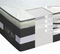 """LUCID 16"""" Latex and Gel Memory Foam"""