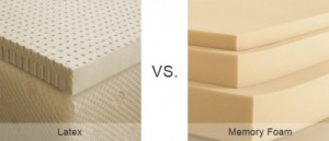 Latex vs Memory Foam