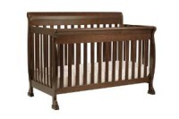 A Brown Baby Crib