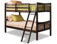 A Full Over Full Bunk Bed