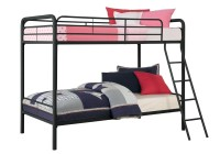 DHP Twin Over Twin Metal Bunk Bed