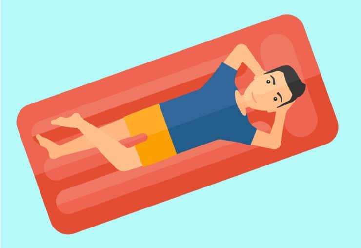 how to blow up an air mattress