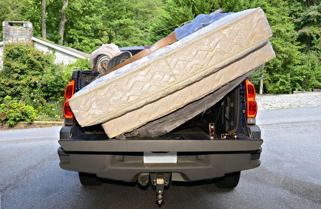 how to transport a mattress