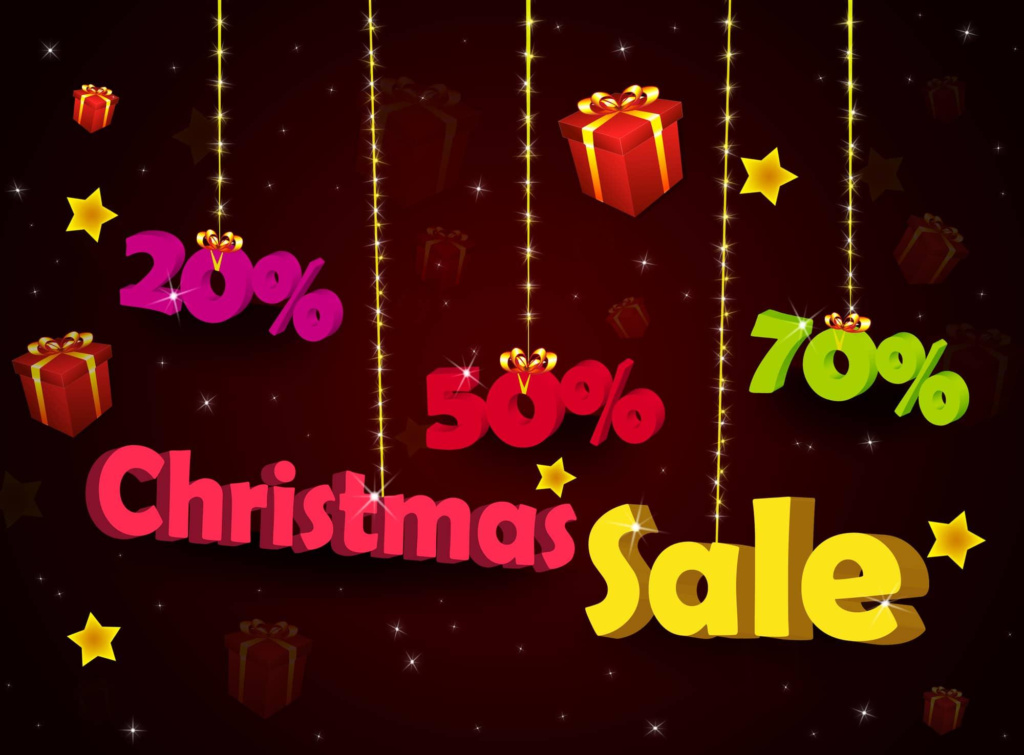 Christmas mattress sale