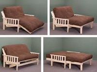 Different uses of a futon mattress