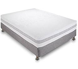 Classic Brands 11-Inch Engage Cool Gel Memory Foam and Innerspring