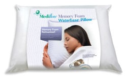 Mediflow Gel Memory Foam Waterbase Pillow