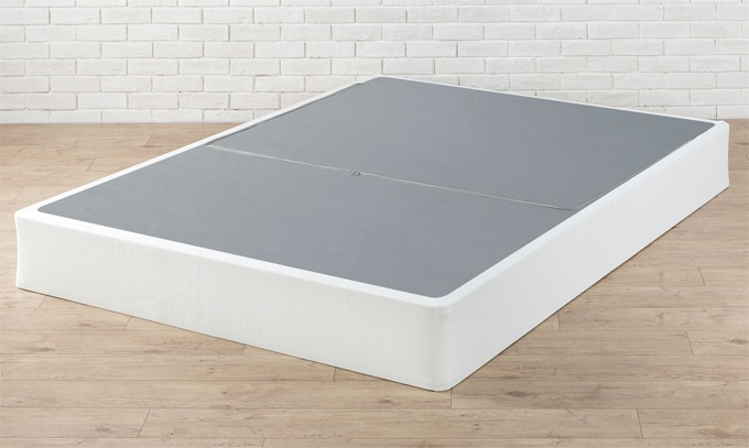 A Zinus Box Spring Bed