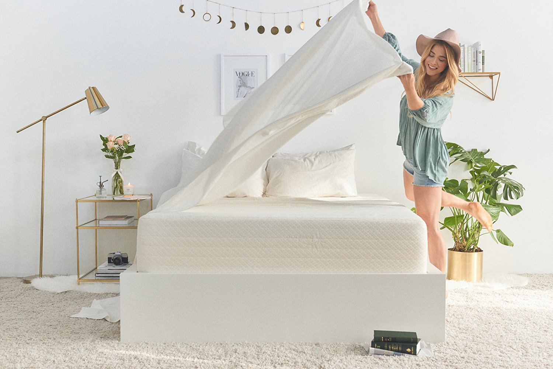 review hd brentwood home inch foam mattress gel memory