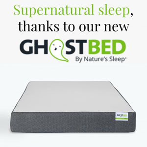 Supernatural sleep thanks to the new Ghostbed
