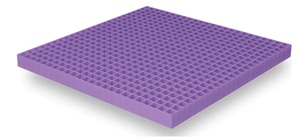 Hyper-Elastic Polymer™ used in the Purple Bed