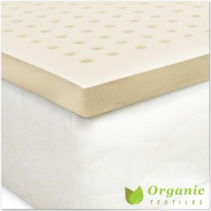 Certified Organic Latex Mattress Topper by Organic Textiles