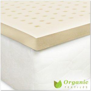 Certified Organic Latex Mattress Topper by Organic Textiles