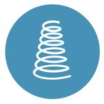 Mattress firmness icon
