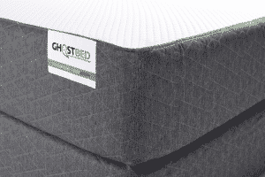 A picture of the Ghostbed logo / label