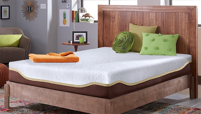 Live and Sleep Resort Elite, 10-Inch Firm Cooling Gel Memory Foam Mattress