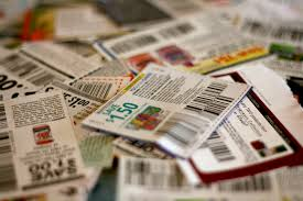 A pile of coupons and codes