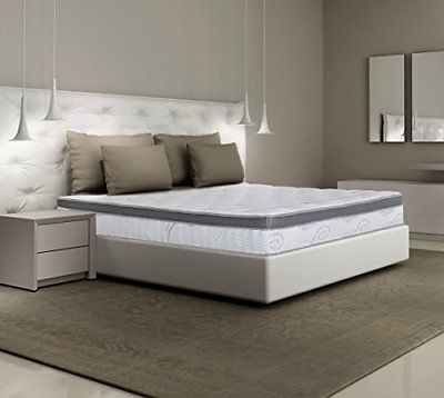 Olee Sleep 13 inch Galaxy Hybrid Gel Infused Memory Foam and Pocket Spring