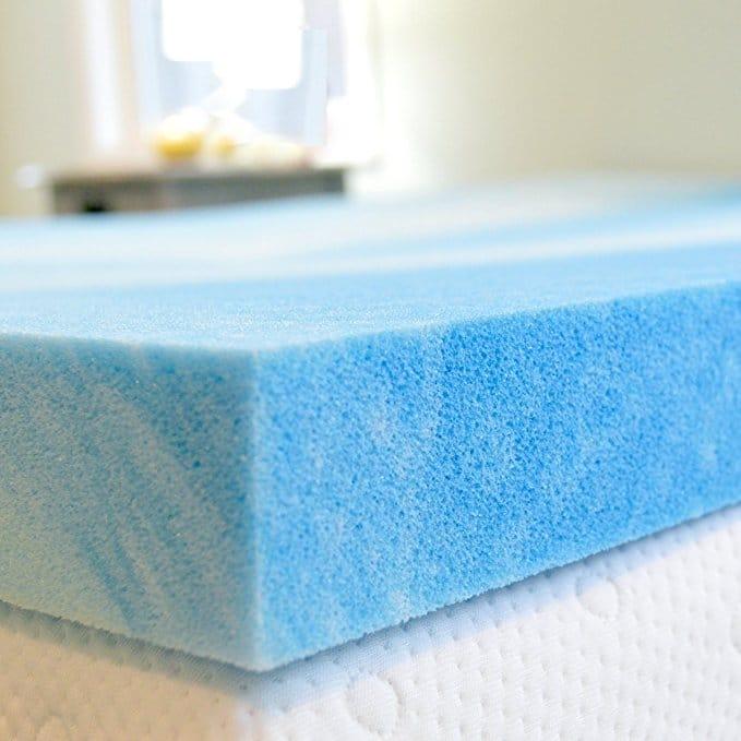 Advanced Sleep Solutions Gel Cooling Mattress Topper