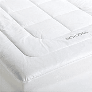 SleepBetter Iso-Cool Cooling Mattress Topper with Outlast Cover