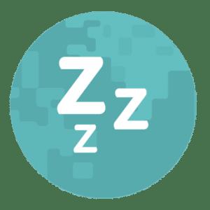 Sleep zzz icon