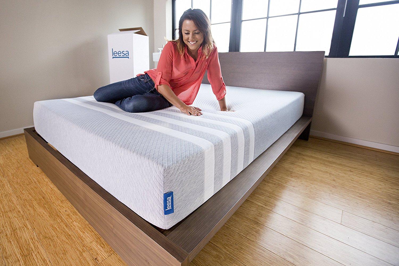 Leesa mattress edge support