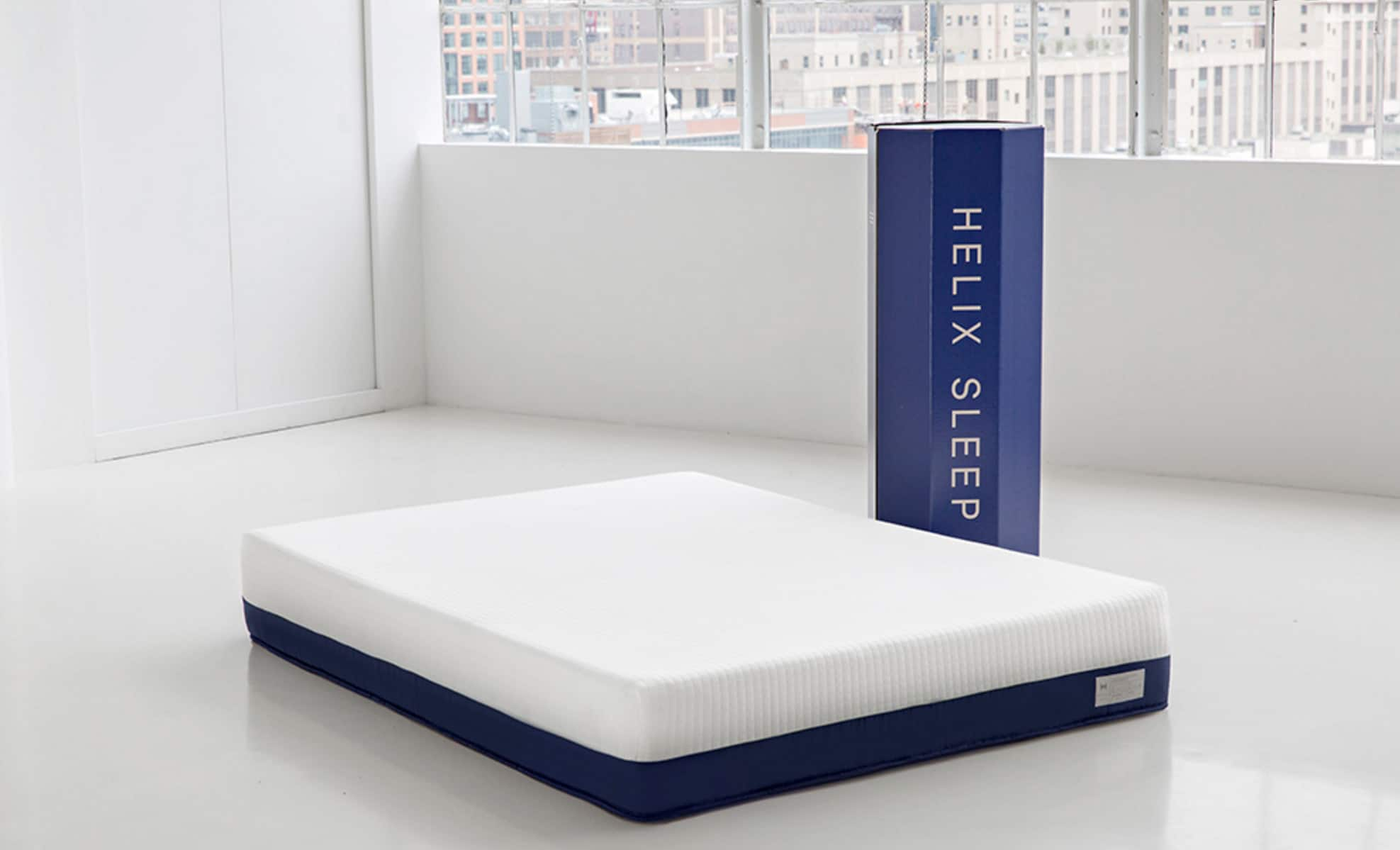 Mattress in a box from Helix Sleep