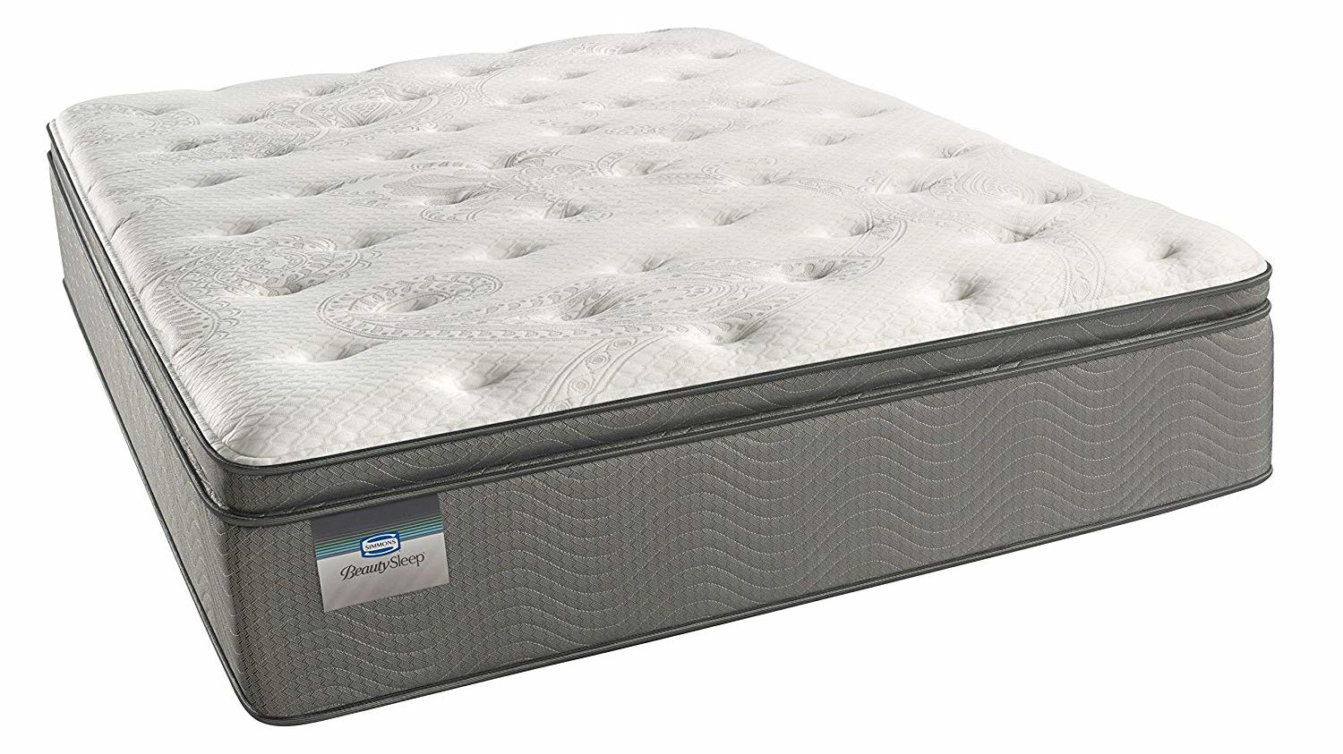 Simmons BeautySleep Plush Pillow Top 450