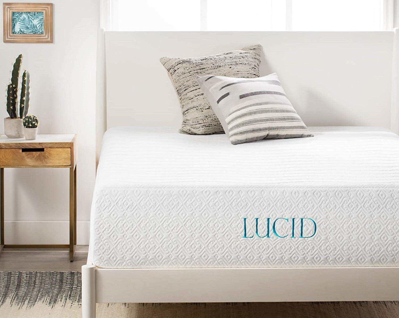 LUCID Plush 14 Inch Memory Foam Mattress Review