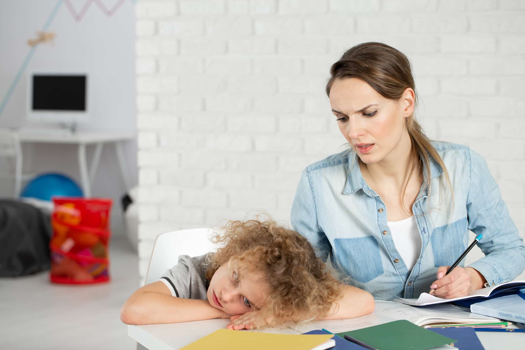 ADHD and sleep deprivation in kids